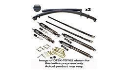 Drivetech 4x4 Enduro Nitro Gas Lift Kit fits Toyota Landcruiser 100 Series IFS Diesel (2002-08) - DTSK-TOY13H 263591