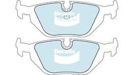 Bendix EURO Brake Pad Set Rear DB1245 EURO+ 71424