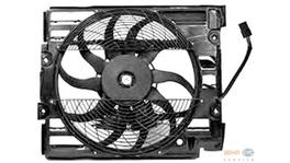 Hella AC Condenser Fan 8EW 351 040-111 fits BMW 5 Series (E39)