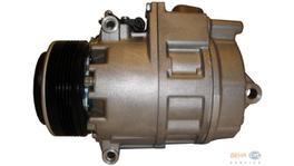 Hella AC Compressor 8FK 351 176-571 fits BMW X5 (E53) 3.0i/3.0D 251318