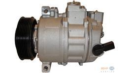 Hella AC Compressor 8FK 351 322-741 fits Audi A3/Skoda/Volkswagen Golf Mk5