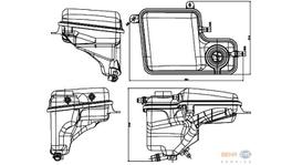 Hella Expansion Tank 8MA 376 789-711