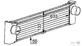 Hella Intercooler 8ML 376 723-521 fits Mercedes-Benz Viano (W639)