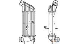 Hella Intercooler 8ML 376 746-361 fits Citroen C8/Jumper/Peugeot