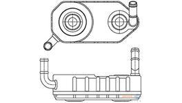 Hella Transmission Oil Cooler 8MO 376 787-671 fits Seat Cordoba/Ibiza 2