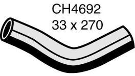 Mackay Top Radiator Hose CH4692