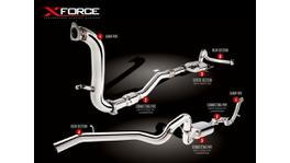 XFORCE Turbo Back Exhaust 409 Stainless With Cat fits Patrol GU Wagon