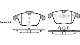 REMSA Brake Pad Set Front 1219.00