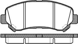 REMSA Brake Pad Set Front 1318.00