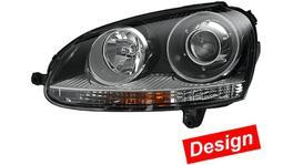 HELLA Headlight Drivers Side 1LL 009 476-041