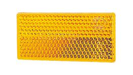 HELLA Reflector 70mmx31.5mm Amber Self Adhesive 200 Pack 2919/200