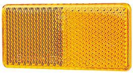 HELLA Reflector 94mmx44mm Amber Self Adhesive 00 Pack 2922BULK