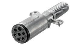 HELLA 7 Pin Trailer Plug Metal 4934