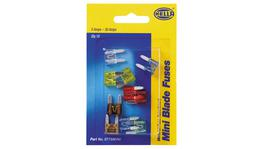 HELLA Mini Blade Fuse Assortment Pack 8779MINI