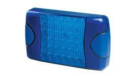 HELLA DuraLED Warning Lamp Multiflash Blue 95903761 230393