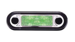 HELLA LED Interior Lamp Narrow Green 95951015