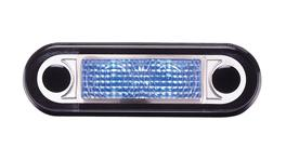 HELLA LED Interior Lamp Narrow BLue 95951025 230355
