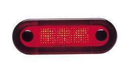 HELLA LED Interior Light 24V Red 95951073