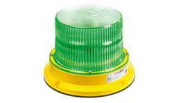 HELLA UltraRAY LED Rotating Beacon Green HM400GDIR