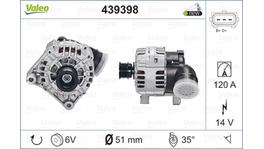 Valeo Alternator 439398