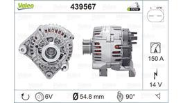 Valeo Alternator 439567