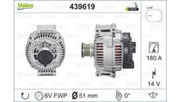Valeo Alternator 12V 180A 439619