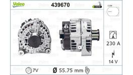 Valeo Alternator 439670