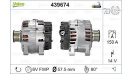 Valeo Alternator 12V 150A 439674