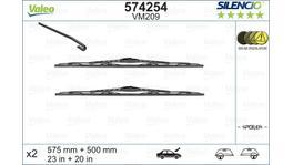 Valeo Silencio Wiper Blade Set Front VF209 574254