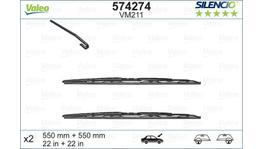 Valeo Silencio Wiper Blade Set Front VM211 574274