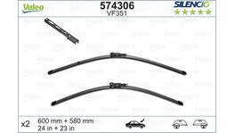 Valeo Silencio Wiper Blade Set Front VF351 574306
