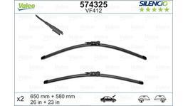 Valeo Silencio Wiper Blade Set Front VF412 574325
