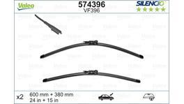 Valeo Silencio Wiper Blade Set Front VF396 574396