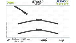 Valeo Silencio Wiper Blade Set Front VF380 574480