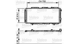Valeo Radiator 731611