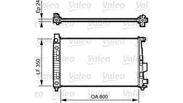 Valeo Radiator 732897