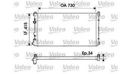 Valeo Radiator Manual 732918