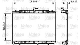Valeo Radiator Manual 735206