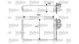 Valeo Heater Core 812215