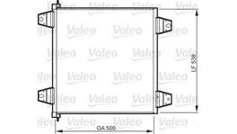 Valeo AC Condensor 818986
