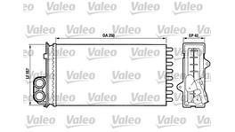 Valeo Heater Core 883976