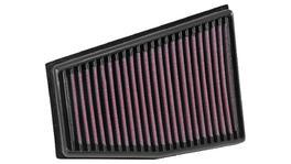 K&N Hi-Flow Performance Air Filter Fits Audi RS5 4.2L V8 2013-2015, Right Side Only 33-3032