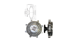 Dayco Viscous Fan Clutch 115015