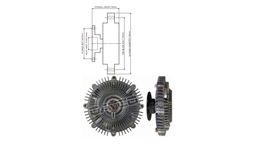 Dayco Viscous Fan Clutch 115038