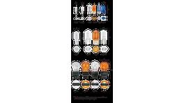 Narva Globes Wedge 12V 16W 2 Pack 7526BL