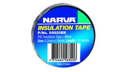 Narva PVC Insulation Tape 19mm x 20m Black 56820BK