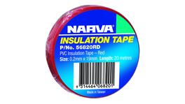 Narva PVC Insulation Tape 19mm x 20m Red 56820RD