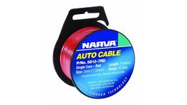 Narva Auto Cable 10A 3mm x 7m Black 5813-7BK