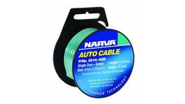 Narva Auto Cable 15A 4mm x 4m Black 5814-4BK