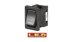 Narva Switch Rocker On Off Micro LED 62061BL